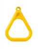 Кольцо гимнастическое треугольное Желтое