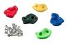 Пластиковые зацепы (камни для скалодрома)